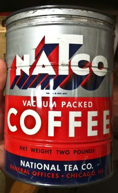 Natco vintage coffee tin | via Allan Peters