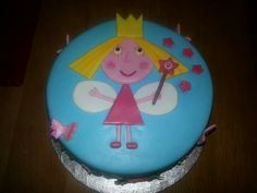 Ben and holly princess cake little kingdom