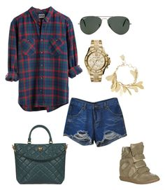 """""""Untitled #97"""" by rayame ❤ liked on Polyvore featuring ...Lost, Chicnova Fashion, Dolce&Gabbana, Isabel Marant, Ray-Ban, MICHAEL Michael Kors and BCBGMAXAZRIA"""