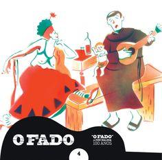 """#OFado - CD4 - Ilustrador: #AntóniaTinturé / Texto: #OsvaldoMacedodeSousa """" (...) Há humor, há comicidade na vida do Fado, de forma discreta, menos turística, mas sempre popular. (...)"""" O.M.S."""