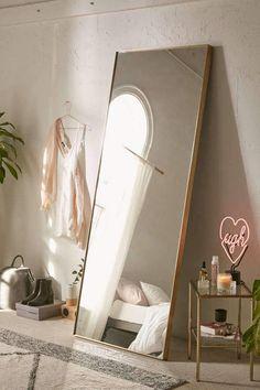 Country Home Decor Bellevue Floor Mirror.Country Home Decor Bellevue Floor Mirror Bedroom Inspo, Home Decor Bedroom, Living Room Decor, Bedroom Ideas, Diy Bedroom, Urban Bedroom, Trendy Bedroom, Master Bedrooms, Bedroom Apartment