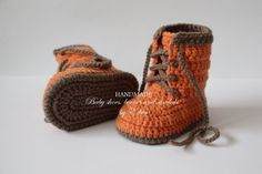 Crochet baby booties baby shoes boots baby by editaedituke on Etsy