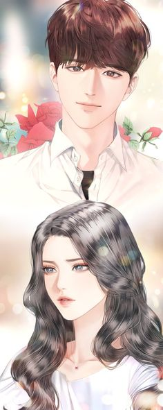 Cute Anime Boy, Anime Art Girl, Manga Art, Anime Girls, Anime Korea, Korean Anime, Anime Love Story, Anime Love Couple, Anime Couples Drawings