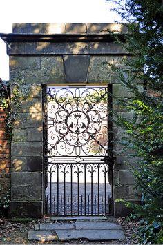 Dunham Massey Garden Gate