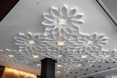 This installation gallery from Armstrong Ceiling Solutions – Commercial showcases applications to help inspire your next project. View the gallery Pvc Ceiling Design, Ceiling Design Living Room, Floor Ceiling, Home Room Design, Ceiling Decor, Design Your Home, New Home Designs, Living Room Designs, Wall Cladding Interior