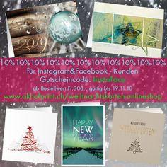 10% Rabatt auf Weihnachtskarten 2018 Onlineshop auf www.akhofprint.ch #weihnachten #weihnachtskarten #papeterie #christmas2018 #christmascards #rabattcode #neujahrskarte #weihnachtskarten2018 #drucken #print #design #edel #akhofprint #rabatt #prägen #goldprägung #prägekarten#swissmade #swissdesign #newjear #onlineshop #onlineshopping #onlinedruckerei #designkarten #weihnachtsgrüße #weihnachtsgeschenke #schweizerprodukt #swissproduct #neujahrskarte #2019 #kartendesign Christmas Cards, Instagram, Print Design, Paper, Paper Mill, Thanks Card, Card Wedding, Gift Cards, Christmas Presents