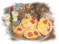 Grubby Primitive Amish Friendship Muffin Candles