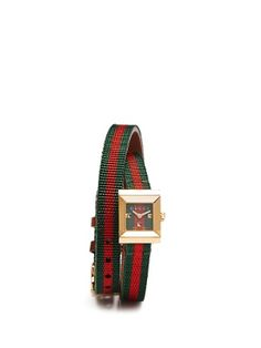Gucci G-Frame double-strap watch