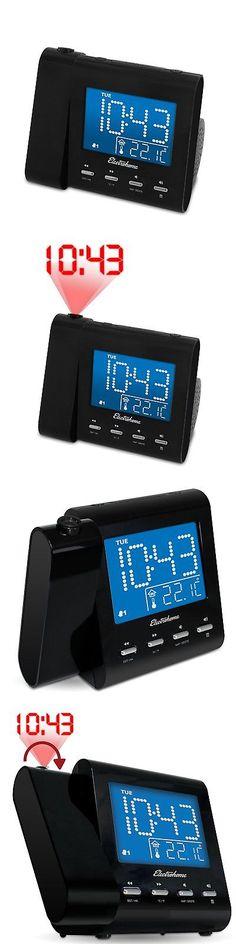 Digital Clocks and Clock Radios: Wall Projector Dual Alarm Clock Radio Music Audio Lcd Digital Display Watches -> BUY IT NOW ONLY: $30.95 on eBay!