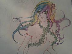 Like a mermaid ;)