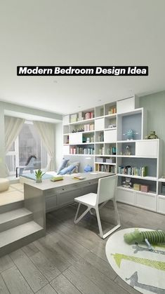 Small Room Design Bedroom, Small House Interior Design, Bedroom Furniture Design, Modern Bedroom Design, Home Room Design, Room Decor Bedroom, Kids Bedroom, Bedroom Layouts, My New Room