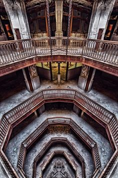 Abandoned Detroit. So sad what beauty in Detroit is being left behind....