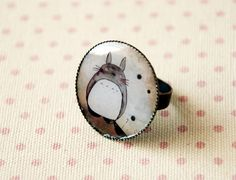 Totoro ring. So lovely^^