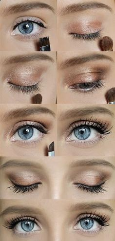 Try out this Simple Quick Makeup look today! Its easy and cute for a casual Tuesday. Here is the link to see a step by step and what products were used - - Hair Ideas