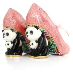 Join us in the crazy, cute obsession of Irregular Choice character heels! Does it get more adorable than a panda and her baby? Irregular Choice Exclusive Limited Edition Character Heels