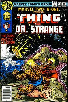 Marvel Two-in-One # 49 by Bob Budiansky & Al Milgrom