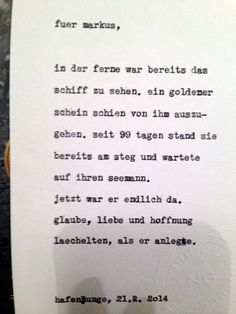 """Markus' Inspirationswort: Seemann. Diese Karte entstand im Hafenjungen in Wien unter dem Motto """"Happy Typing für Drinks"""". Fotos daher teilweise etwas unscharf … :-)"""