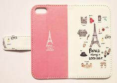 Paris(ピンク) maw 手帳型スマホケース iPhoneシリーズすべて対応/アンドロイド各種対応|iPhoneケース・カバー|NUMBER INFINITE|ハンドメイド通販・販売のCreema