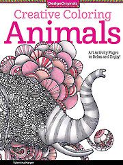 Painting Drawing - Coloring - Creative Coloring Animals