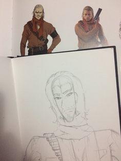 MGSV Ocelot doodle Ocelot, Metal Gear, My Arts, Doodles, Leopard Cat, Metal Gear Solid, Scribble, Sketches, Donut Tower