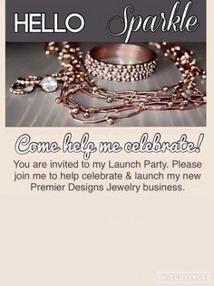 Editable premier designs jewelry party invitation download add premier designs jewelry premier jewelry marketing ideas jewelry ideas bling invitations lady business ideas student centered resources stopboris Images