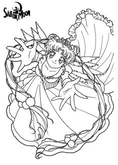 sailor moon coloring pages | sailor moon ausmal bilder | Pinterest ...