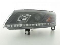 Werkstattportal24 - Scheinwerfer Daylight Set Tagfahrlicht Audi A6 Typ 4F Bj. 04-08 schwarz