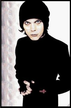 Ville Valo- this is how he looked when I fell in love with the music