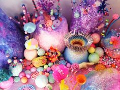 Tagada world : sweet, pop and childish - Art work from Goma, by Perth artists Pip and Pop