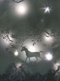 Shadow Play  Light installation in the British Airways first-class lounge, Terminal One at Heathrow Airport.