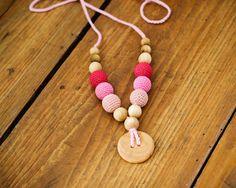 Nursing Breastfeeding Necklace / Teething Toy
