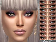 The Sims Resource: Eyes 11 by Sintiklia • Sims 4 Downloads