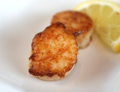 We love this simple and delicious Caramelized Sea Scallops recipe from Thomas Keller. Vote for him to win on America's Favorite Chef! http://www.kitchendaily.com/americas-favorite-chef #FavoriteChef