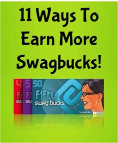 11 Ways To Earn More Swagbucks! ~ such a simple way to earn Free Gift Cards to Starbucks and Amazon, Gas Cards + more!