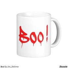 Boo! Classic White Coffee Mug