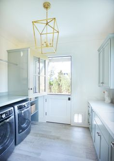 A dream laundry room in a newly constructed home!