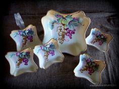 Nippon fruit bowl set of 6 Porcelain bowls Hand by STUFFEZES