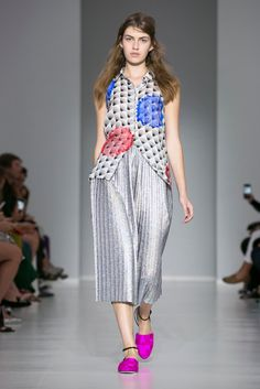 Looks from Marco De Vincenzo's spring collection.