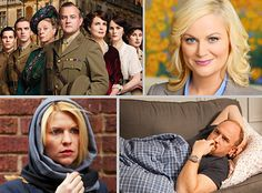 Emmys nominations are out! GO Homeland and Girls. Strong leading ladies :)