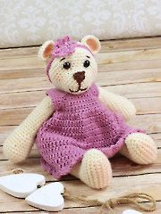 Betty Bear Crochet Pattern