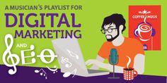 infografía. Marketing online y SEO para bandas, músicos y artistas