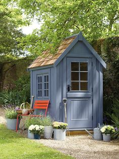 House Plant Maintenance Tips Small Wooden Shed From Posh Sheds. Patio nursery Shed Ideas And Inspiration. Greenhouse And Potting Sheds - Plastic, Metal And Wooden - To Inspire. Backyard Storage, Backyard Sheds, Outdoor Sheds, Garden Buildings, Garden Structures, Outdoor Structures, Halle, Posh Sheds, Simple Shed