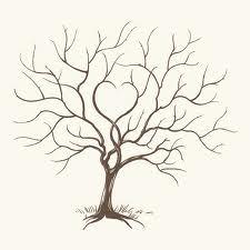 arbre mariage empreinte