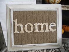 repurposing old picture frames   Southern Scraps : 10 Ways to Repurpose an Old Sweater