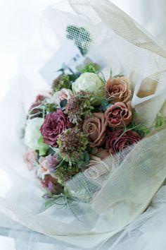 ご結婚記念日 気持ちのこもった贈り物 : 一会 ウエディングの花