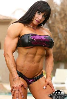 naked girls Strong muscle