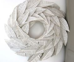 http://www.thenester.com/2011/09/you-made-a-wreath-out-of-what-a-linky-party.html via Pinterest