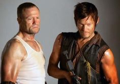 Daryl and Merle