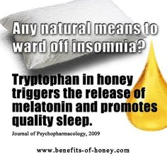 Did you know that you can find insomnia cure from the kitchen?