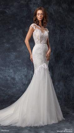Ira Koval 2018 Wedding Dress Picture Description Mermaid Silhouette Here Comes The Bride
